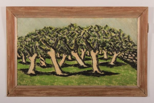"Ben Zion (1897-1987) ""Orchard""1951 O/C"