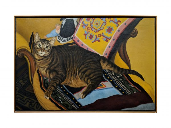 Jack Beal - Cat Painting #1