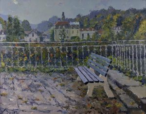 Pierre Bittar - View of a Park