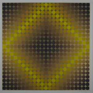 Victor Vasarely - Untitled 2
