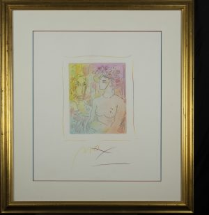 Peter Max - Homage to picasso (1)