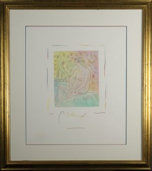 Peter Max - Homage to Picasso (2)