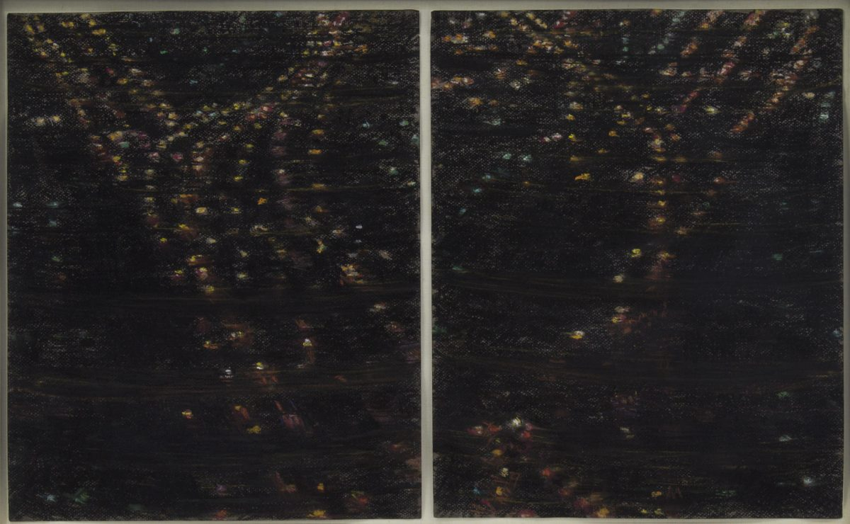 Yvonne Jacquette - Queens Lights at Night (1980)
