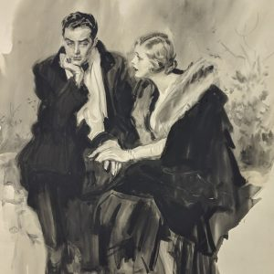 James Montgomery Flagg - Young Couple