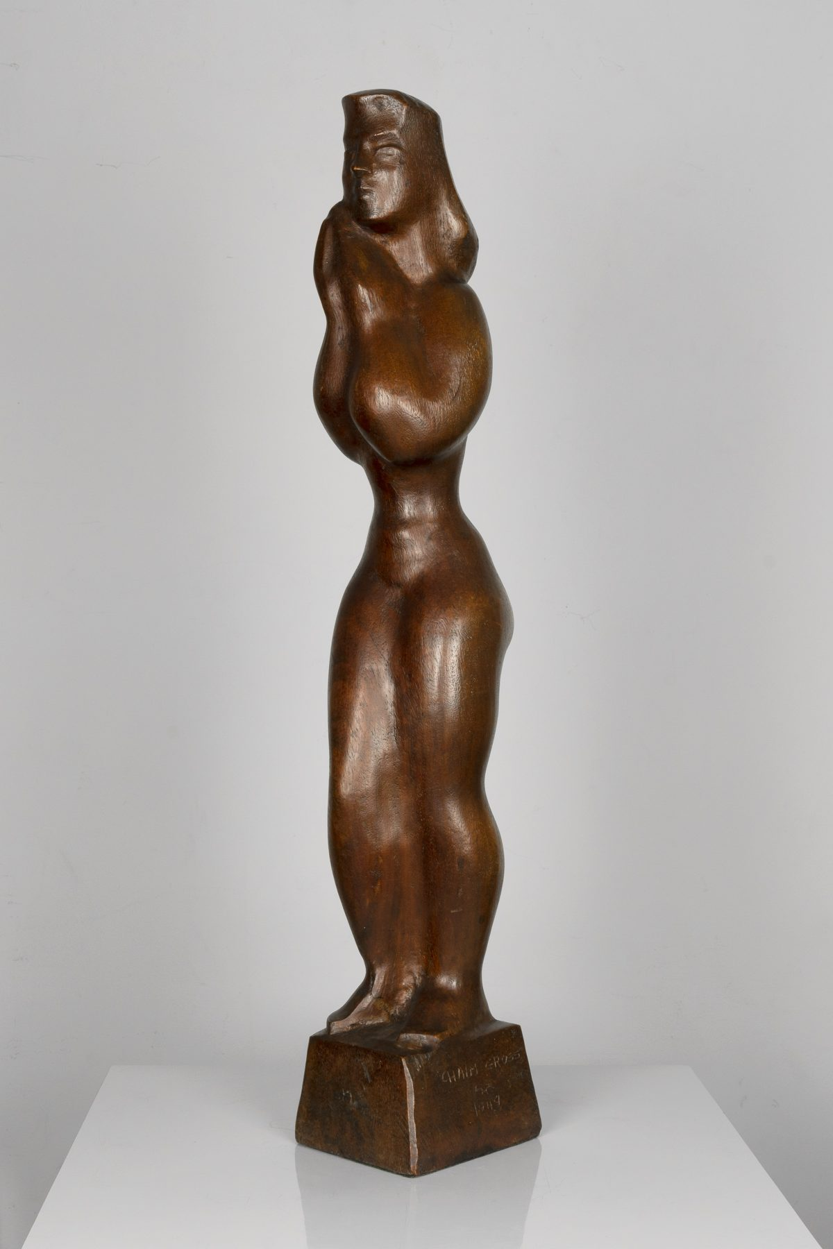 Chaim Gross - Standing Woman (1949)