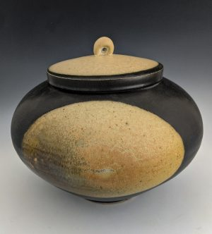 Chris Staley - two toned covered vessel