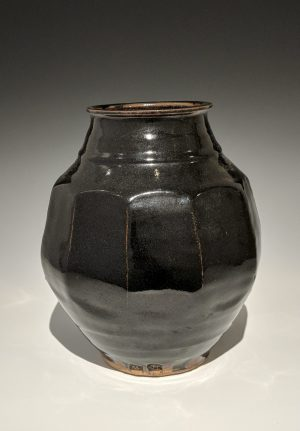 Warren MacKenzie - large faceted vase