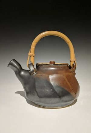 Warren MacKenzie - faceted teapot
