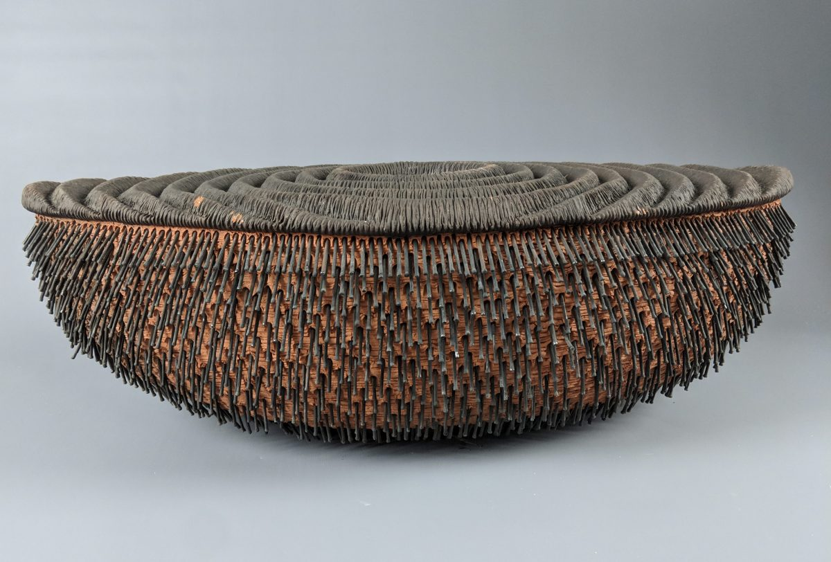 Rob Sieminski - double walled vessel with nails