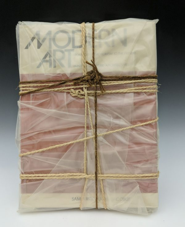 Christo - Wrapped Book (Modern Art )