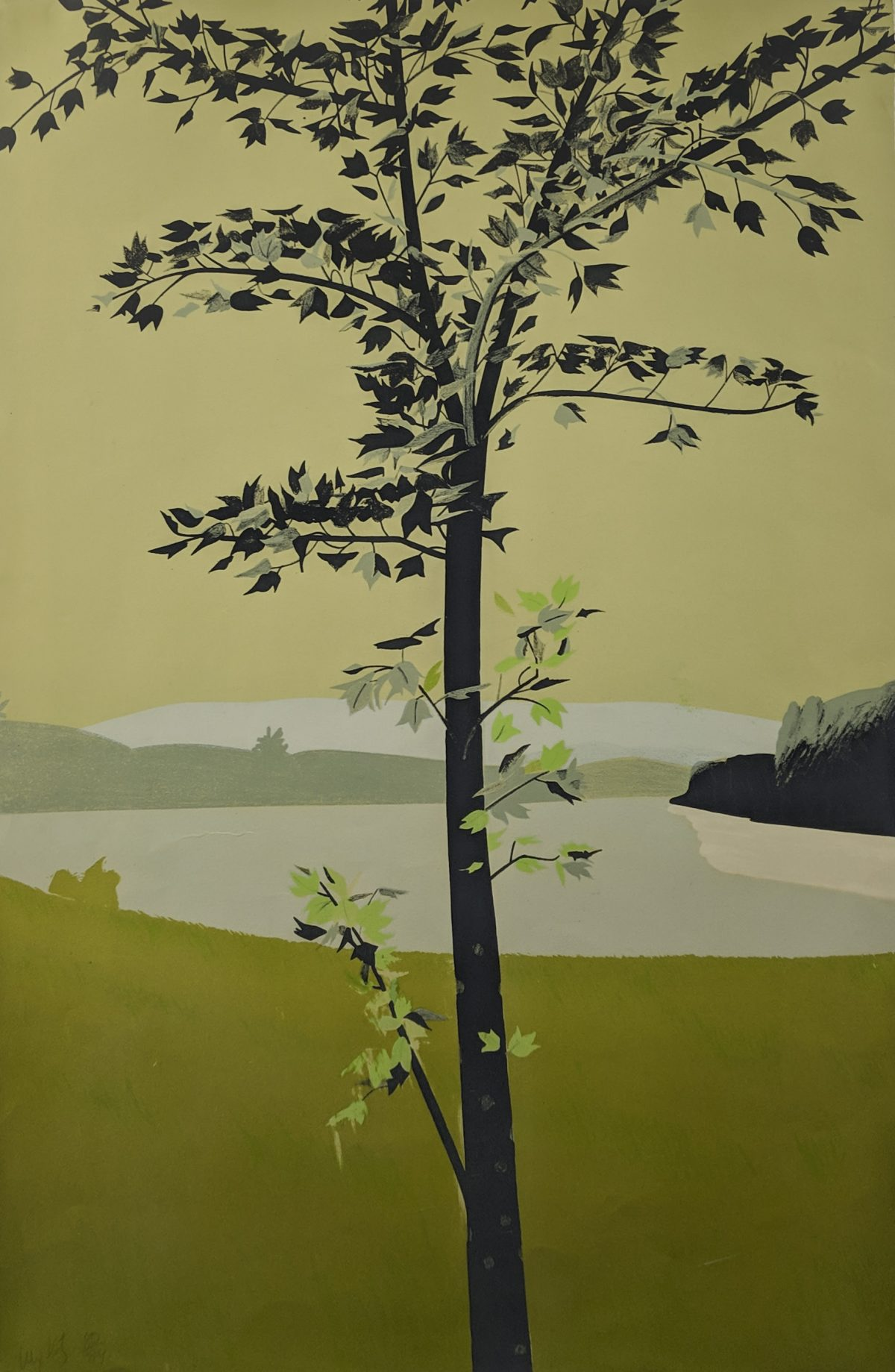 Alex Katz - Swamp Maple I