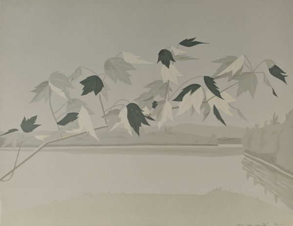 Alex Katz   - Late July II