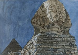 Philip Pearlstein - The Sphinx
