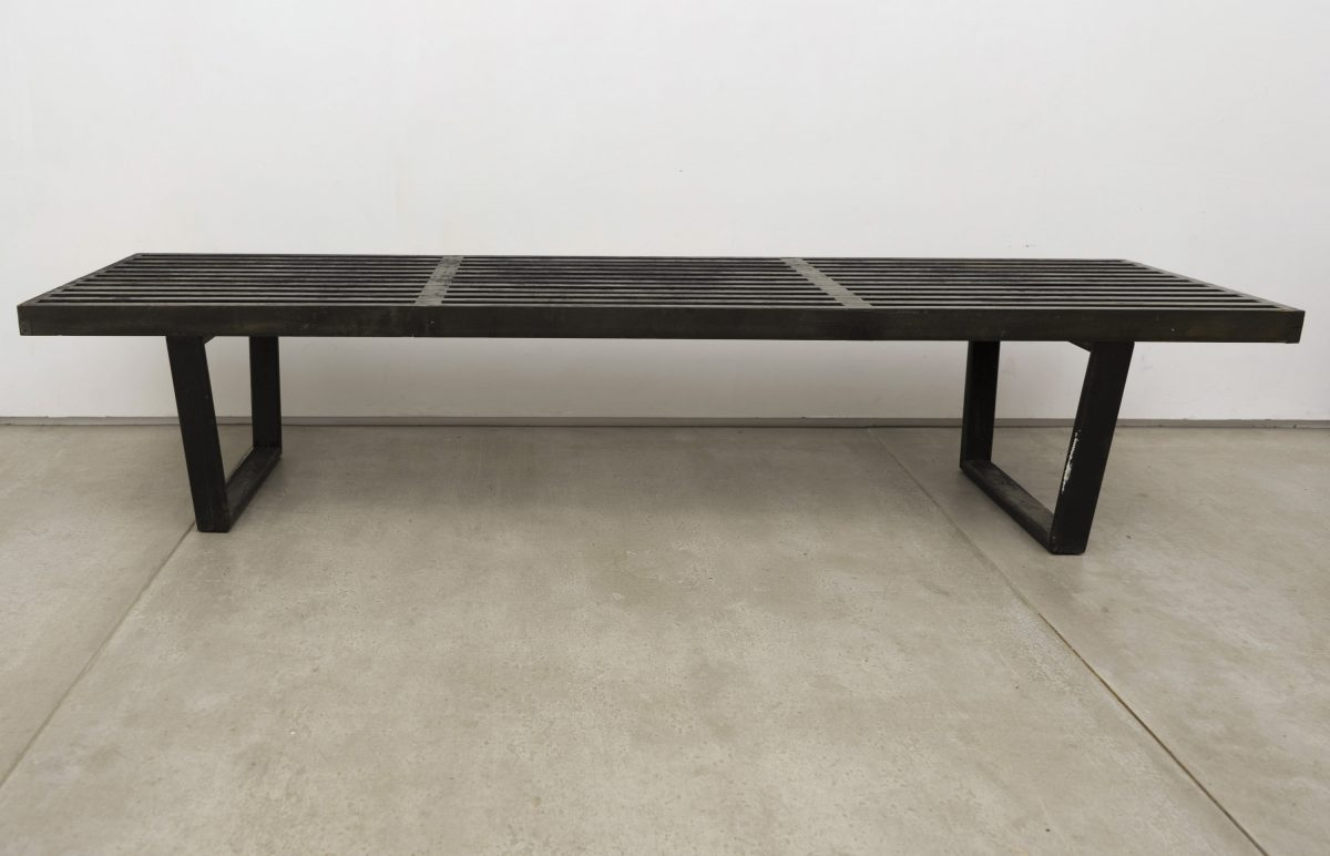 George Nelson for Herman Miller - Two Slat Platform Benches