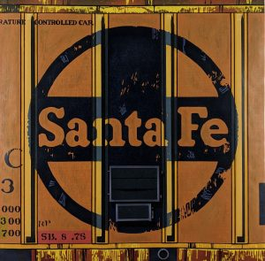 Robert Cottingham - Santa Fe