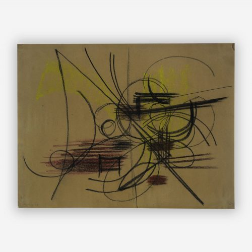 Hans Hartung - Abstract Composition