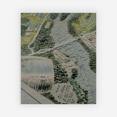 Yvonne Jacquette - Aerial View of 33rd St. IV
