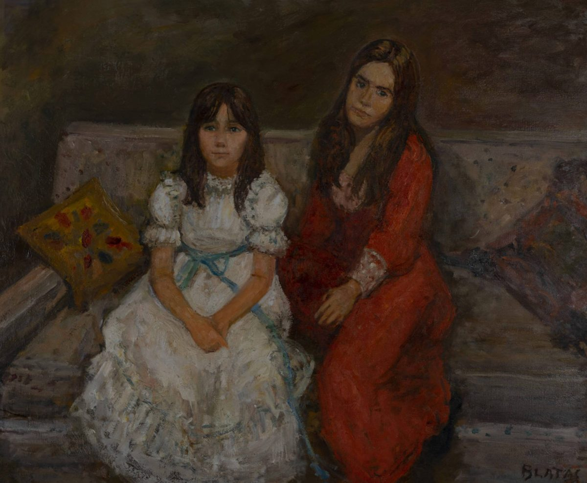 Arbit Blatas - Portait of two sisters