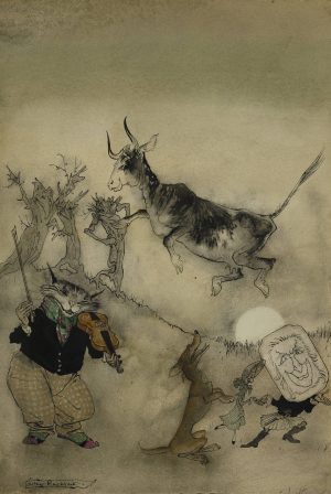 Arthur Rackham - Hey Diddle Diddle