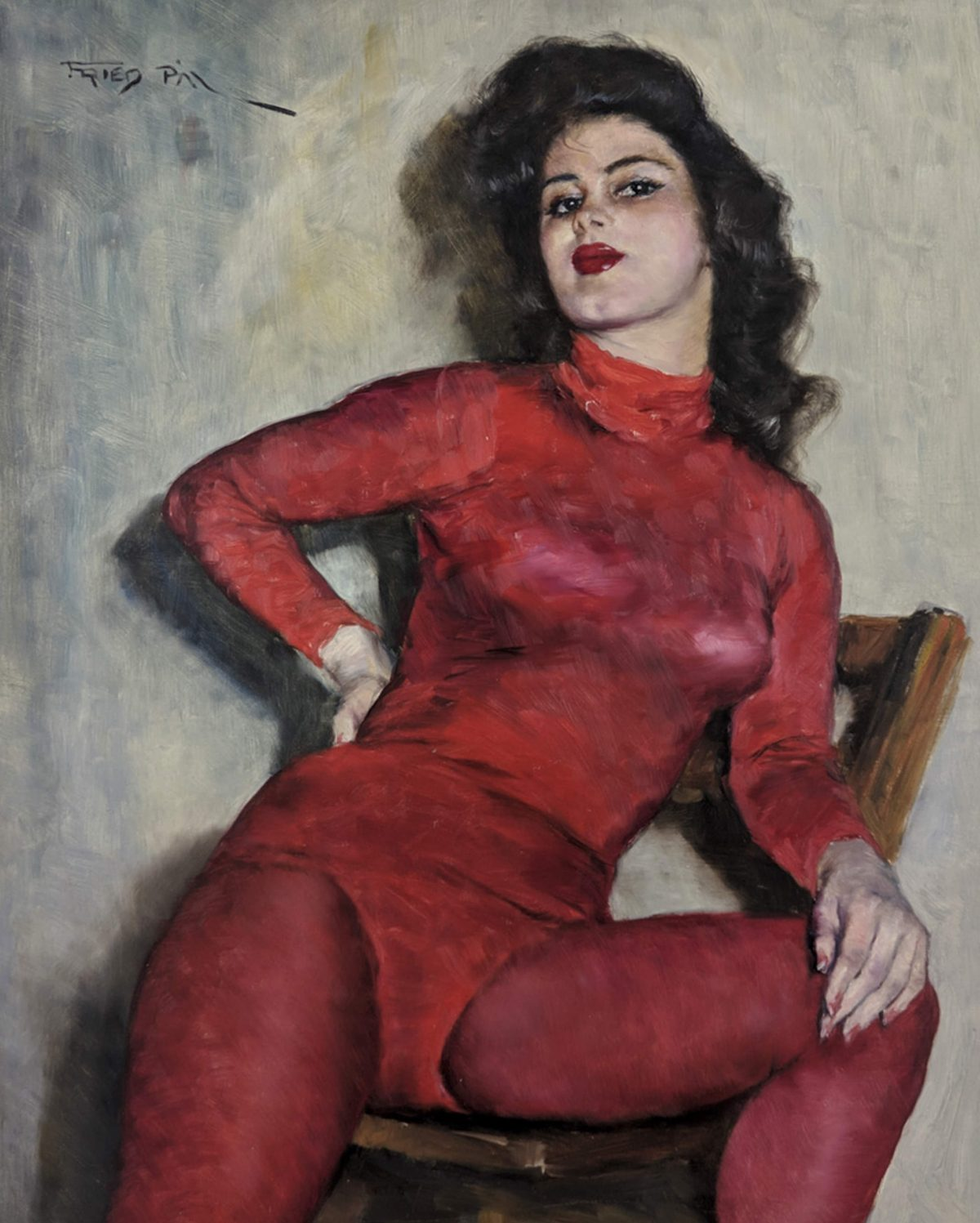 Pál Fried - Red Tights