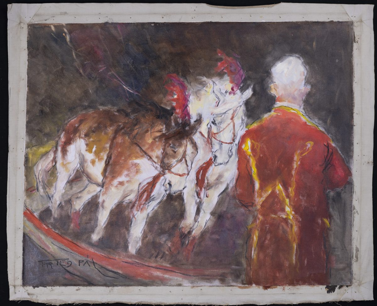 Pál Fried - Untitled (Circus horses)