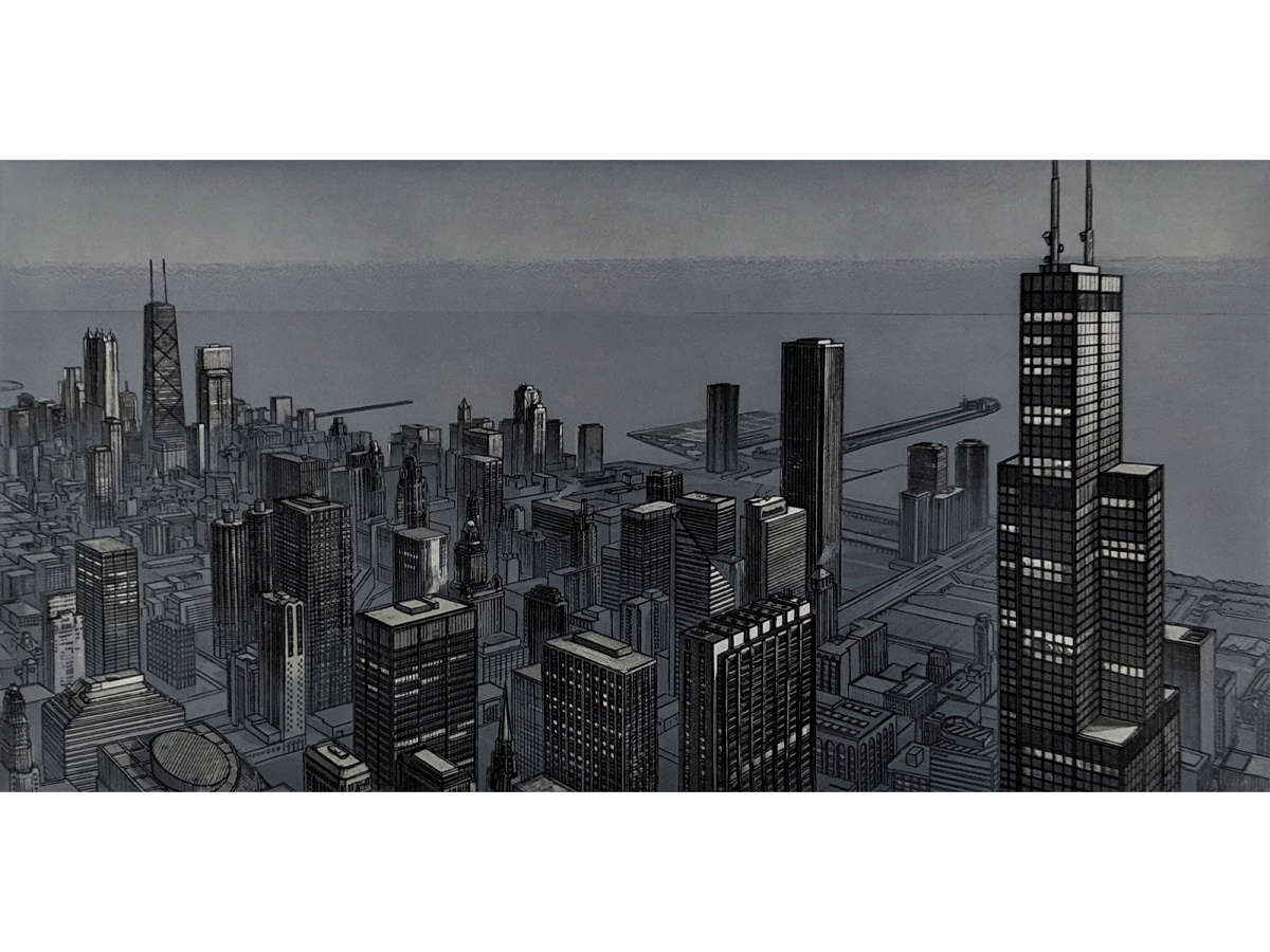 Chicago View, Evening  (1989)