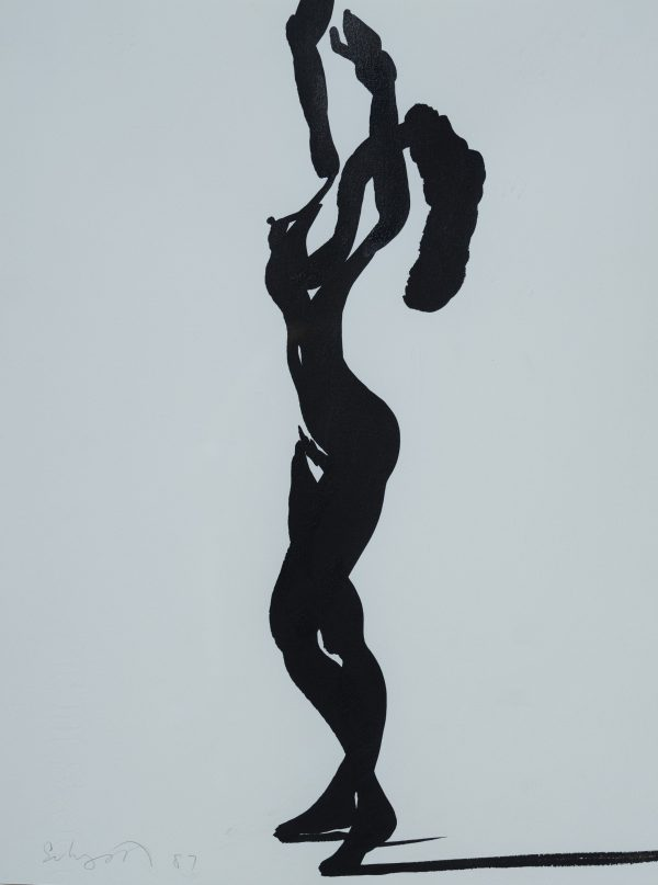 Ben Schonzeit - Untitled (Nude Figure)