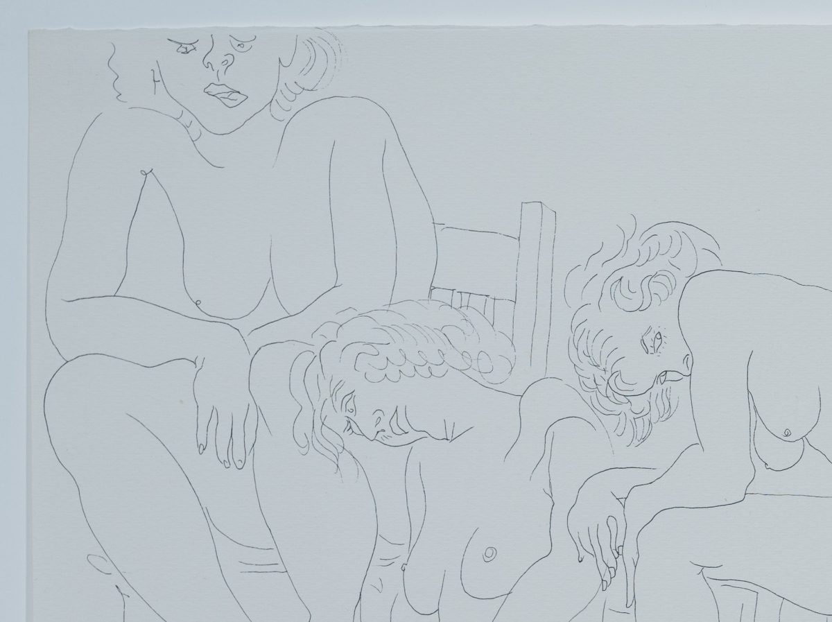 Ben Schonzeit - Untitled (Nude Group)