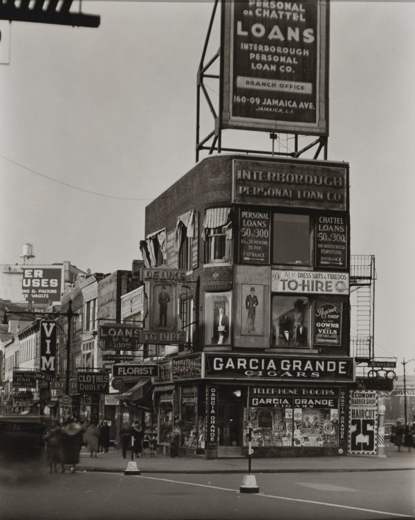 Berenice Abbott - Billboard and Signs