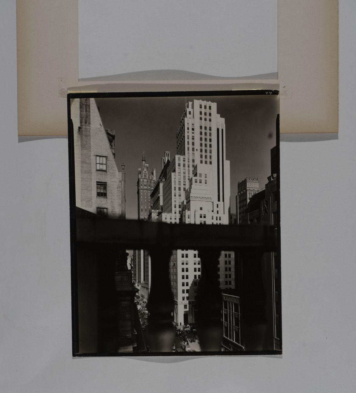 Berenice Abbott - Squibb Building with Sherry Netherland in background