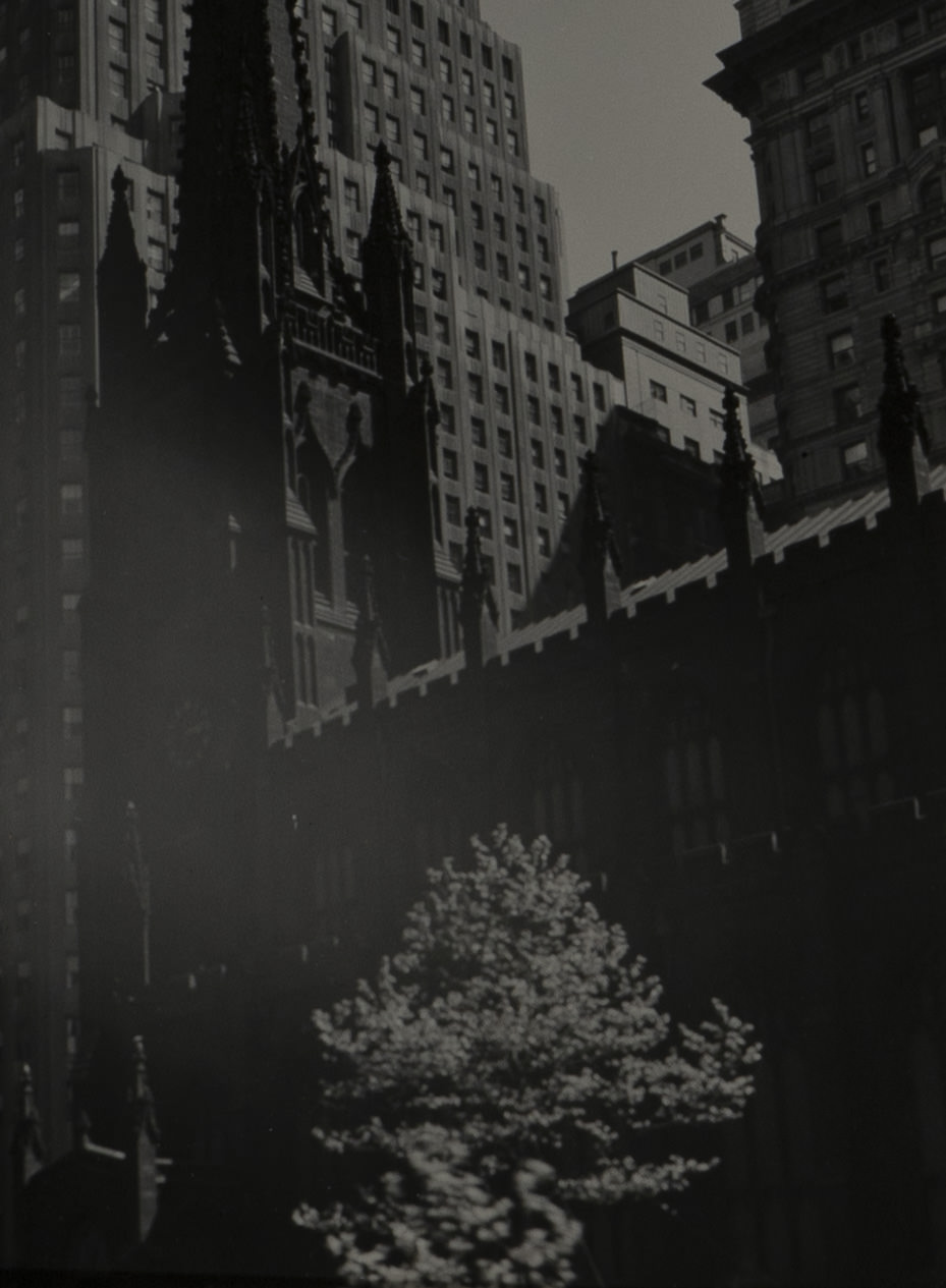 Berenice Abbott - Trinity Church