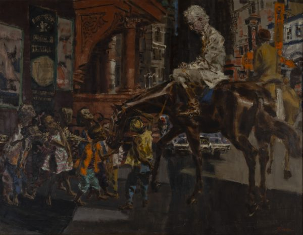 Frank Robbins - Untitled (City Horse scene)