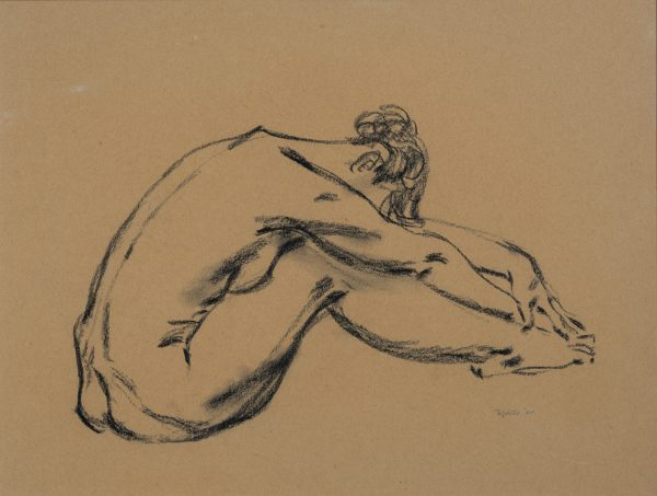 Frank Robbins  - Untitled (nude)