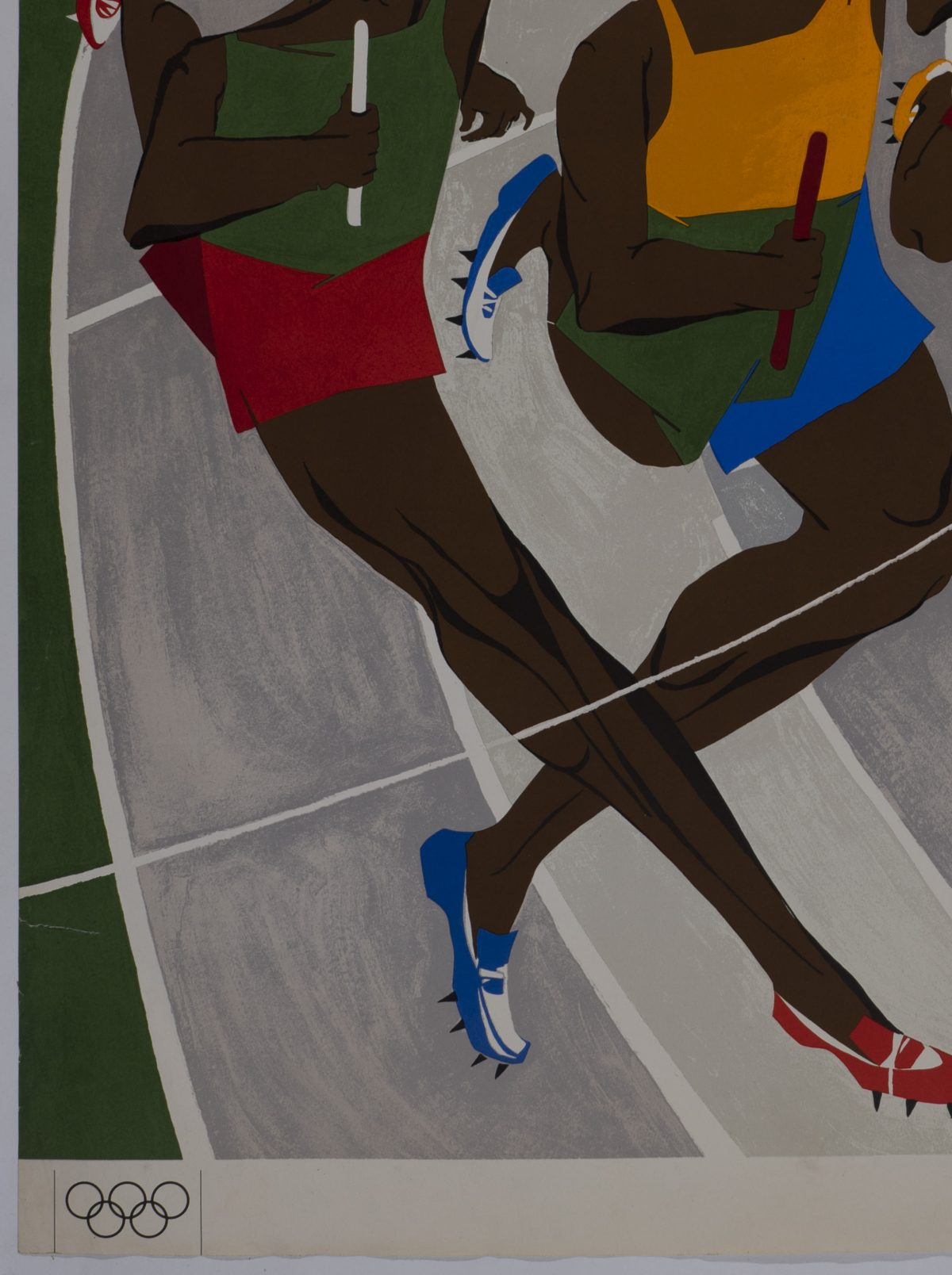 Jacob Lawrence  - Untitled (Olympic Poster)