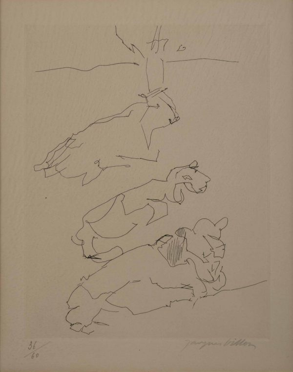Jacques Villon  - Untitled (Cows)