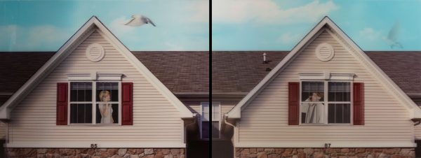 Margeaux Walter - Long Distance (diptych)