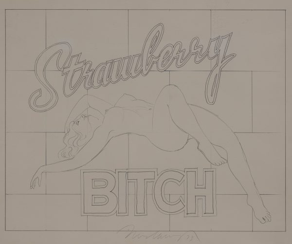 Mel Ramos - Strawberry Bitch