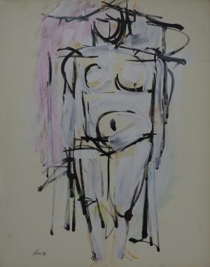 Michael Loew - Standing Female Nude