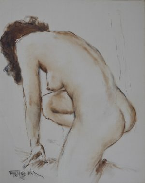 Pál Fried - Untitled (Nude II)