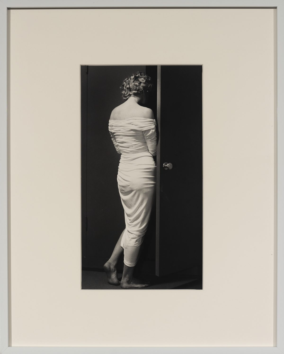 Philippe Halsman - Marilyn Entering the Closet