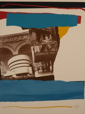 Robert Motherwell - New York Cultural Institutions (from New York, New York, 1982)