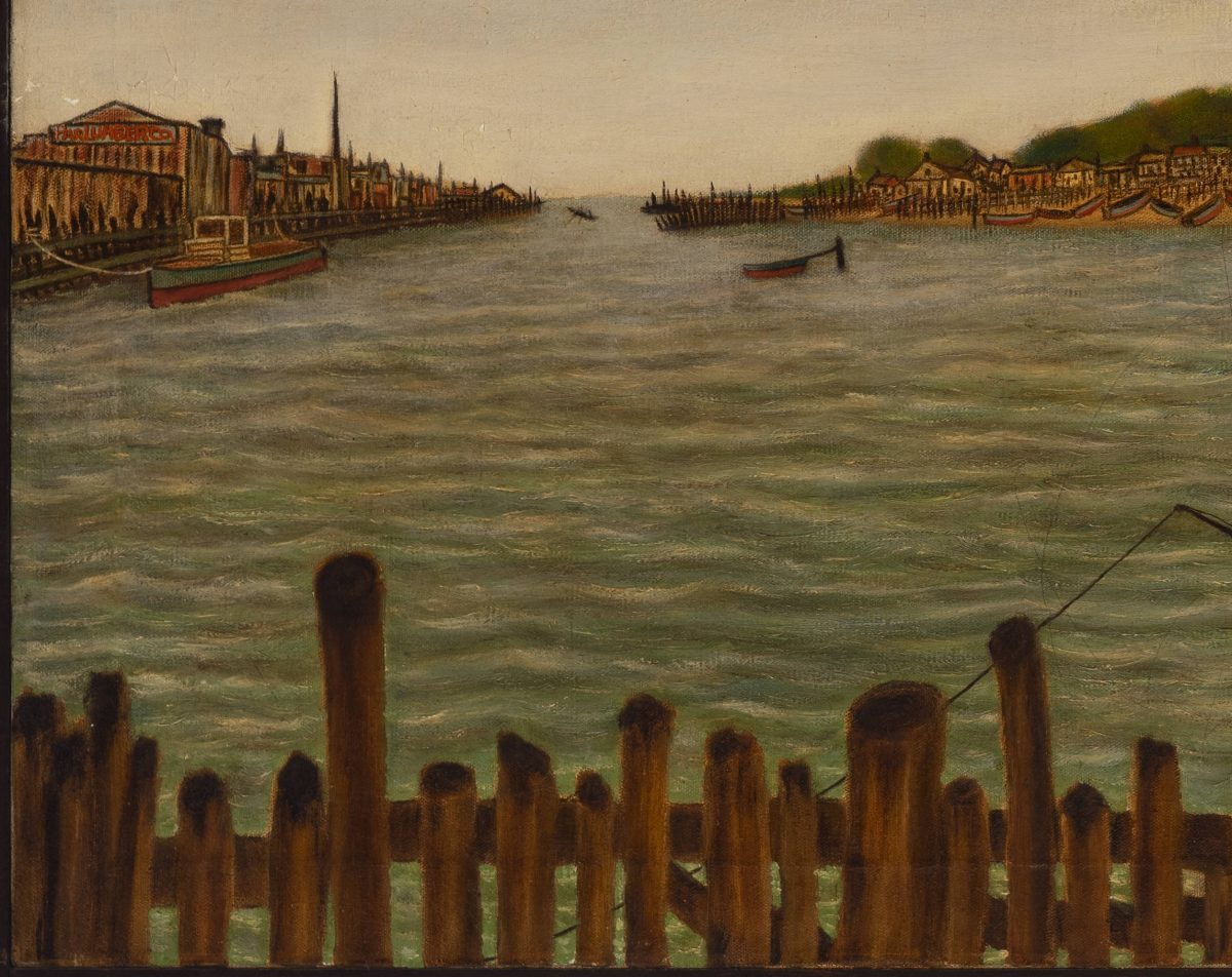 Vesty Davis - Neptune Ave at 21st street - Coney Island Creek