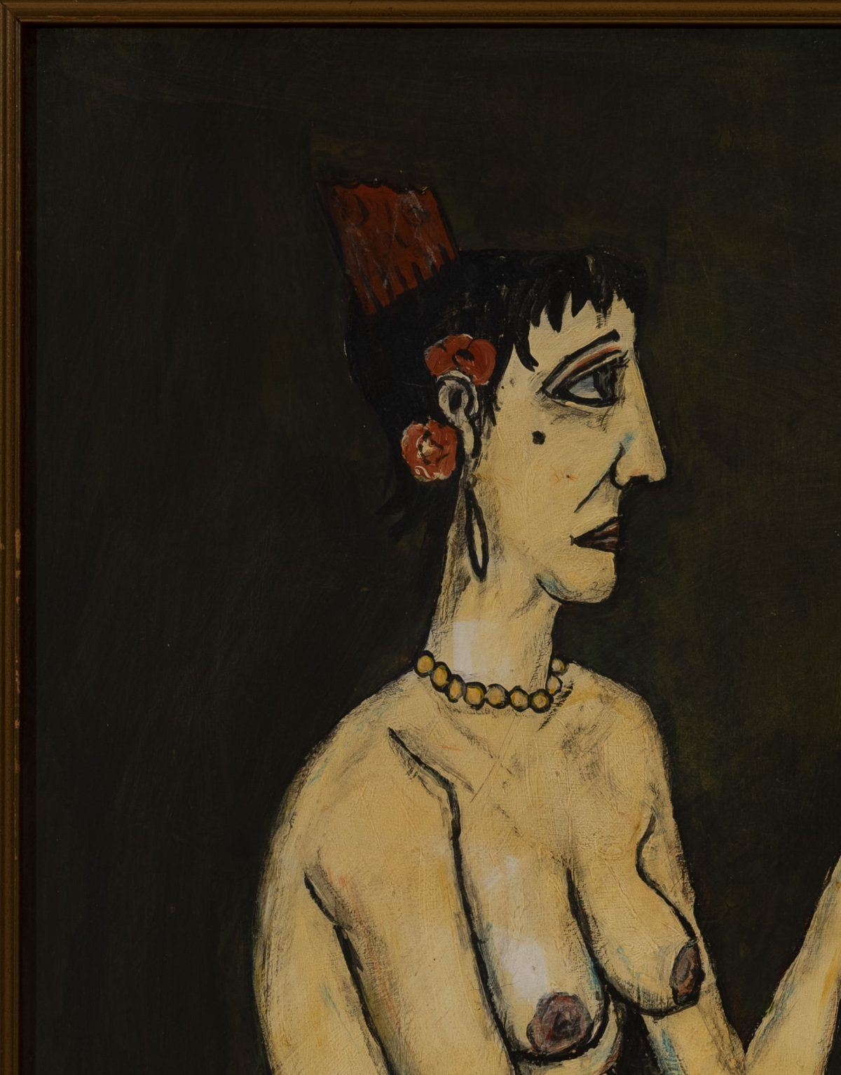 after Bernard Buffet - Nude