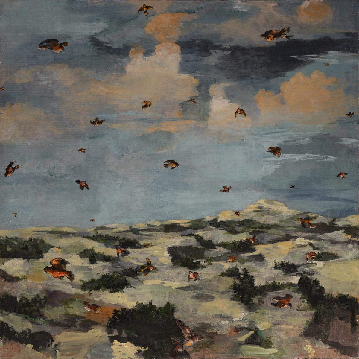 Leslie Lerner - My Life in France: The Sky Above my Home is Alive with Circling Red Birds