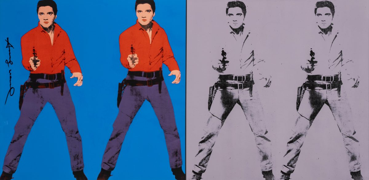 Andy Warhol - Elvis I and II (Poster)