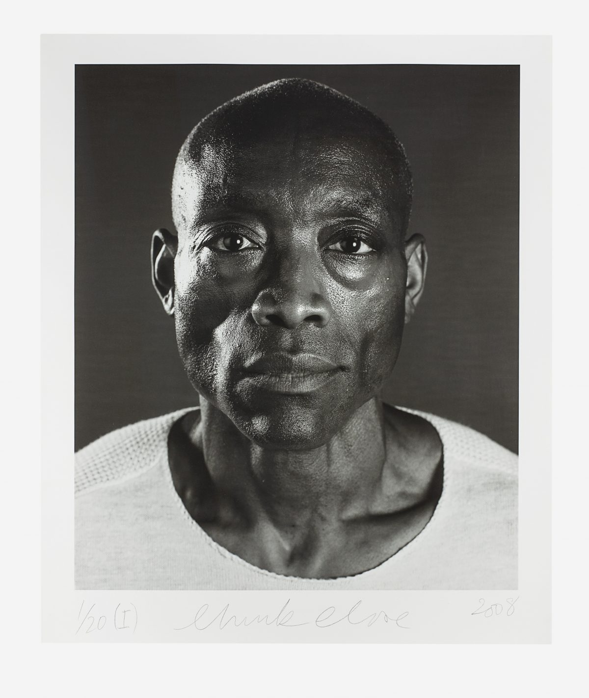 Chuck Close - Untitled (Bill T. Jones) Diptych