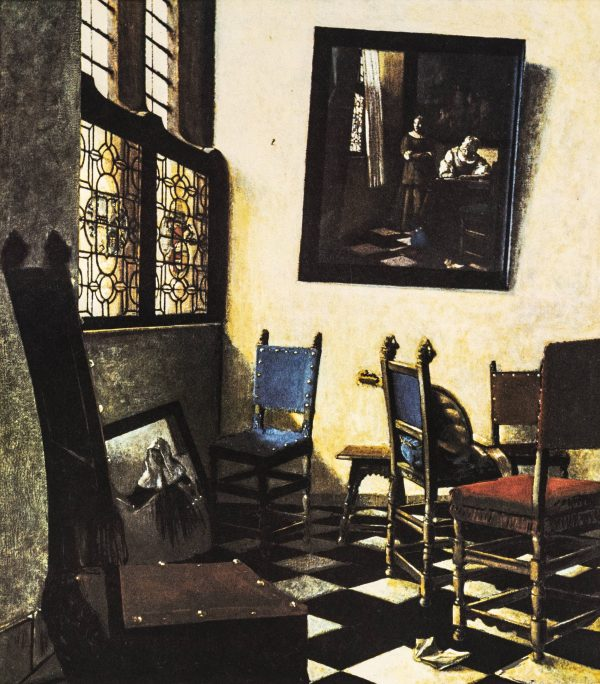 George Deem - Vermeer's Moving