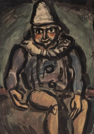 Georges Rouault  - Seated Clown