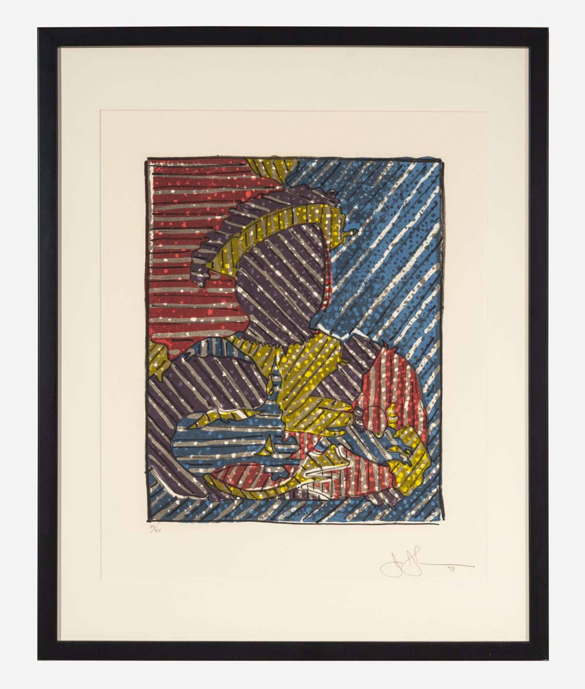 Jasper Johns  - After Holbein