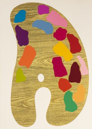 "Jim Dine - Plate 2, from ""4 Palettes"""
